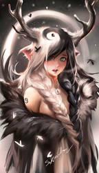 Yinyang Deer Girl