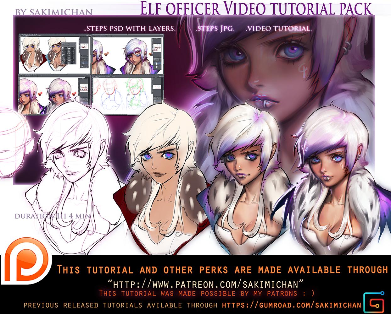 Elf Officer video tutorial pack .promo.