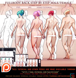 Sexyback Male/Female video tutorial.promo. by sakimichan