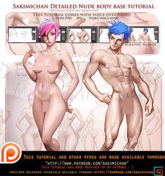 How to paint female male nude.Voice over tutorial.