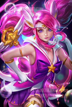 Star guardian Lux . NSFW available.