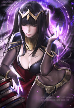 Tharja .nude/NSFW optional.
