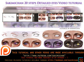 Detailed eyes video tutorial pack.promo by sakimichan
