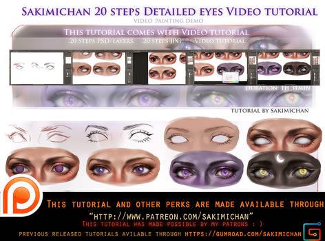 Detailed eyes video tutorial pack.promo