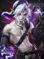 Dark Link.I like em shirless. by sakimichan