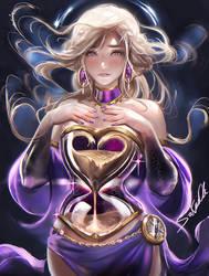 Hour Glass Goddess speedpaint