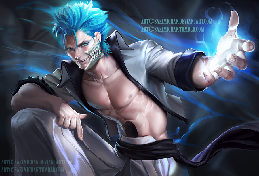 Grimmjow .NSFW optional. by sakimichan
