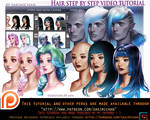 Hair style step be step video tut pack .promo.