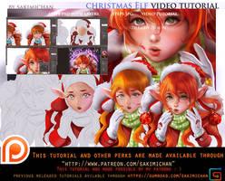 Christmas Elf tutorial pack .promo.