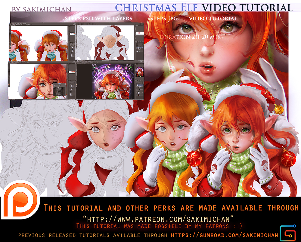 Color Tutorial Pack Promo By Sakimichan Deviantart – Fondos de Pantalla