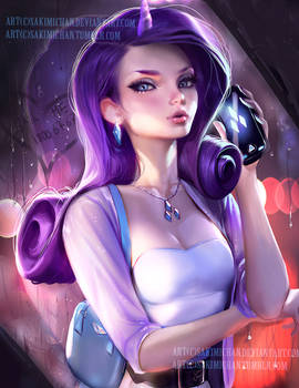 Rarity. modern portrait.