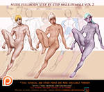 fulbody nude step by step tutorial pack.promo.