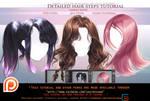 Detailed hair steps tutorial pack.promo.