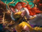 Artemis by sakimichan