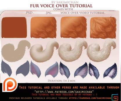 voice over tutorial. Fur .promo.