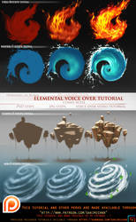 Elemental voice over tutorial pack.promo. by sakimichan