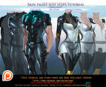 Skin Tight suit steps tutorial pack.promo.