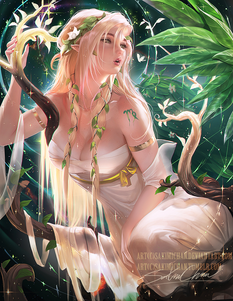 Horoscope series .:Virgo:. by sakimichan