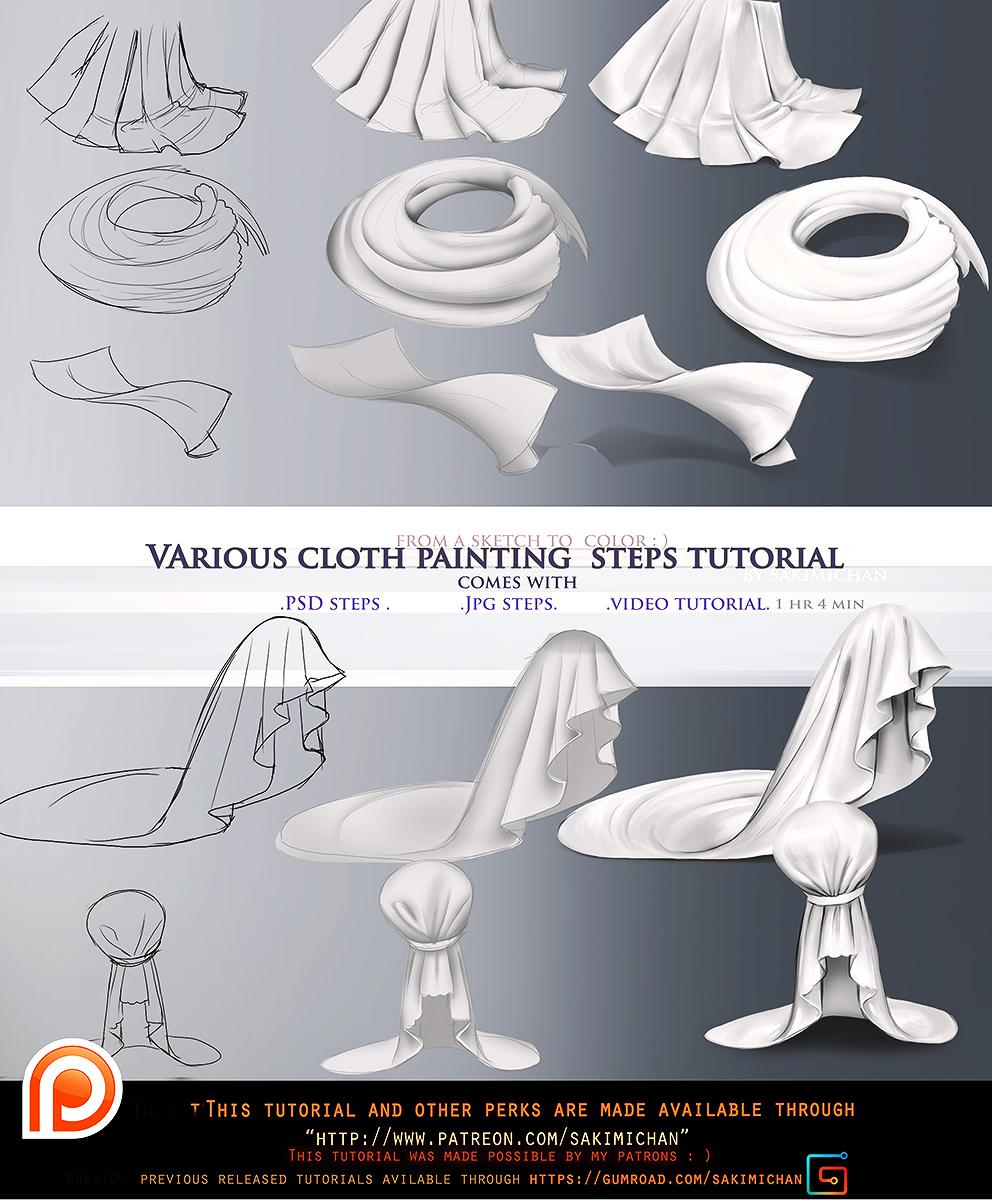 Cloth variation step by step tutorial packomo by sakimichan on cloth variation step by step tutorial packomo by sakimichan baditri Images