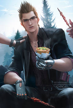 Ignis taste test .nsfw optional.