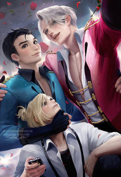 Yuri On Ice group pic