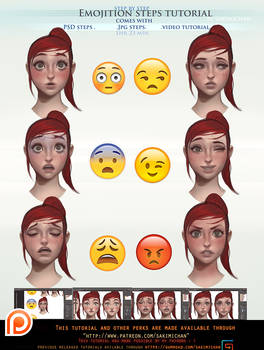 Emotion step by step tutorial .avilable.