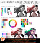 All about color picking 101.voice over.promo.