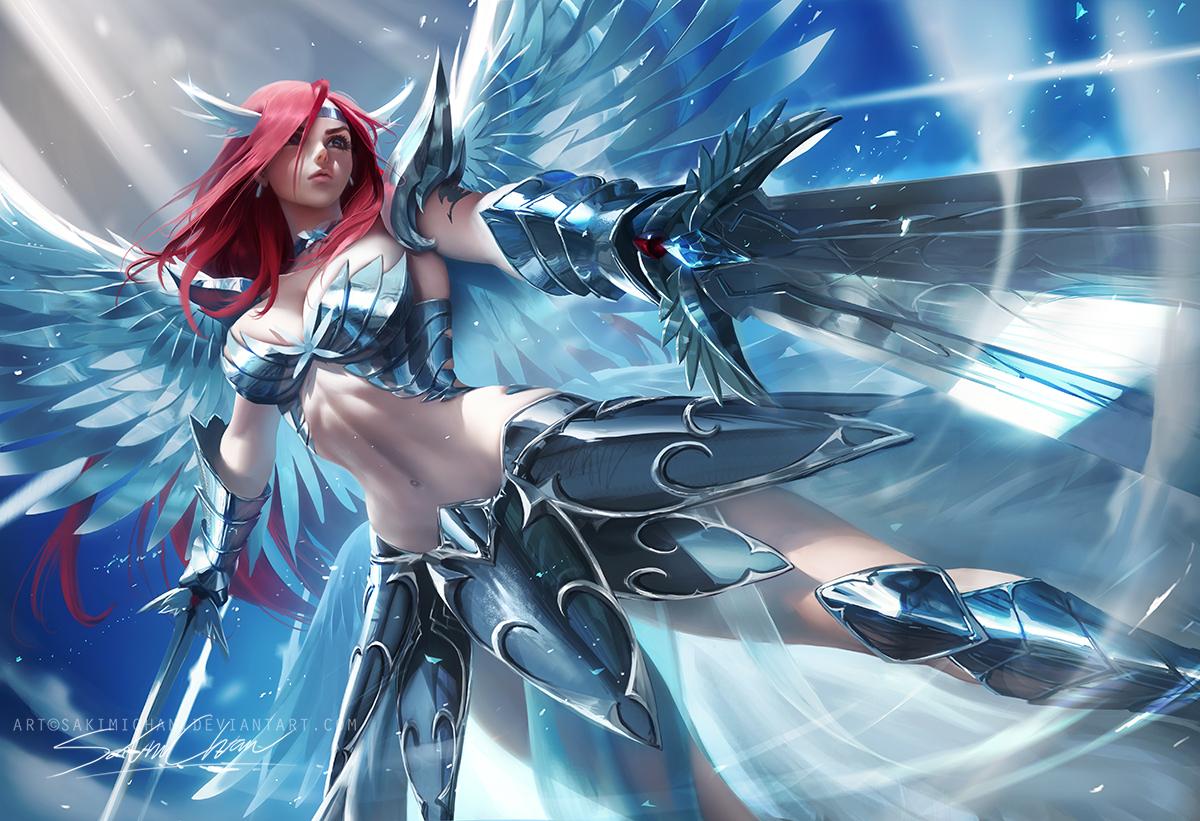 Erza Heaven's wheel armor