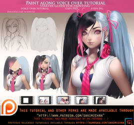 Starter guide for painting voice over .promo. by sakimichan