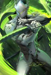 Genji by sakimichan