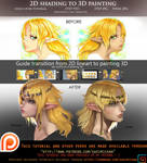 2D shading to 3D painting voice over guide.promo.