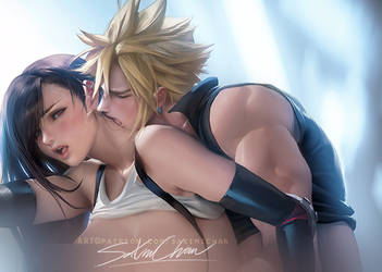 Cloud X Tifa . Mature heteo tag. by sakimichan