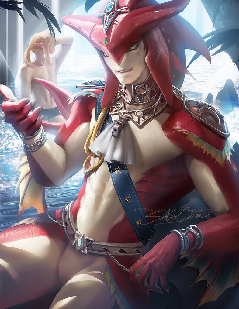 Sidon. zora prince. by sakimichan