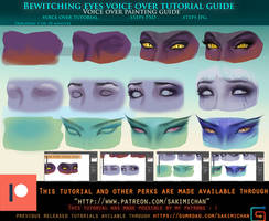 Bewitching Eyes voice over tutorial .promo. by sakimichan
