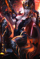 Destroyer Widowmaker by sakimichan