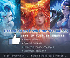 Artbook Prelaunch announcement.