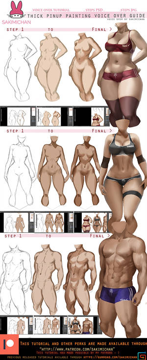 How to: paint thick Pinup voice over tut.promo.