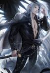 Sephiroth suit