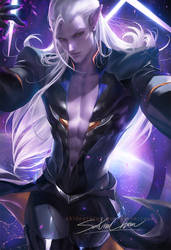 Prince Lotor by sakimichan