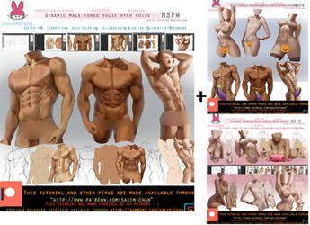 Male + female nsfw voice over guide pack.promo. by sakimichan