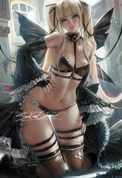Marie rose . lingerie vr. by sakimichan