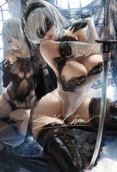 full lace 2b by sakimichan