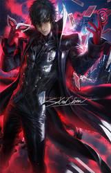 P5 Joker Older by sakimichan