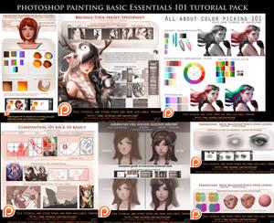 Photoshop Painting Basics Essentials 101 bundle