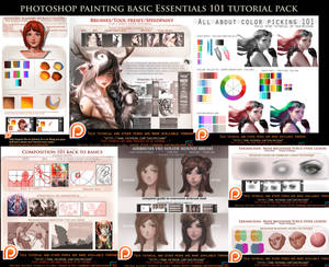 Photoshop Painting Basics Essentials 101 bundle