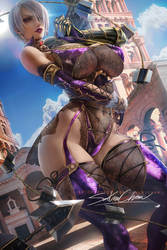 Ivy Valentine .lace. by sakimichan