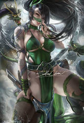 tattoo goddess Akali . dress vr.