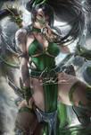 tattoo goddess Akali . dress vr.