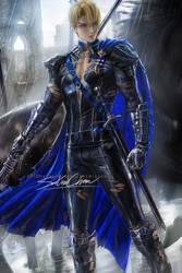 Dimitri pinup