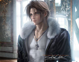 Squall Remake Portrait